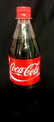 Coca Cola 1 Liter PET und Cola light 1 Liter PET